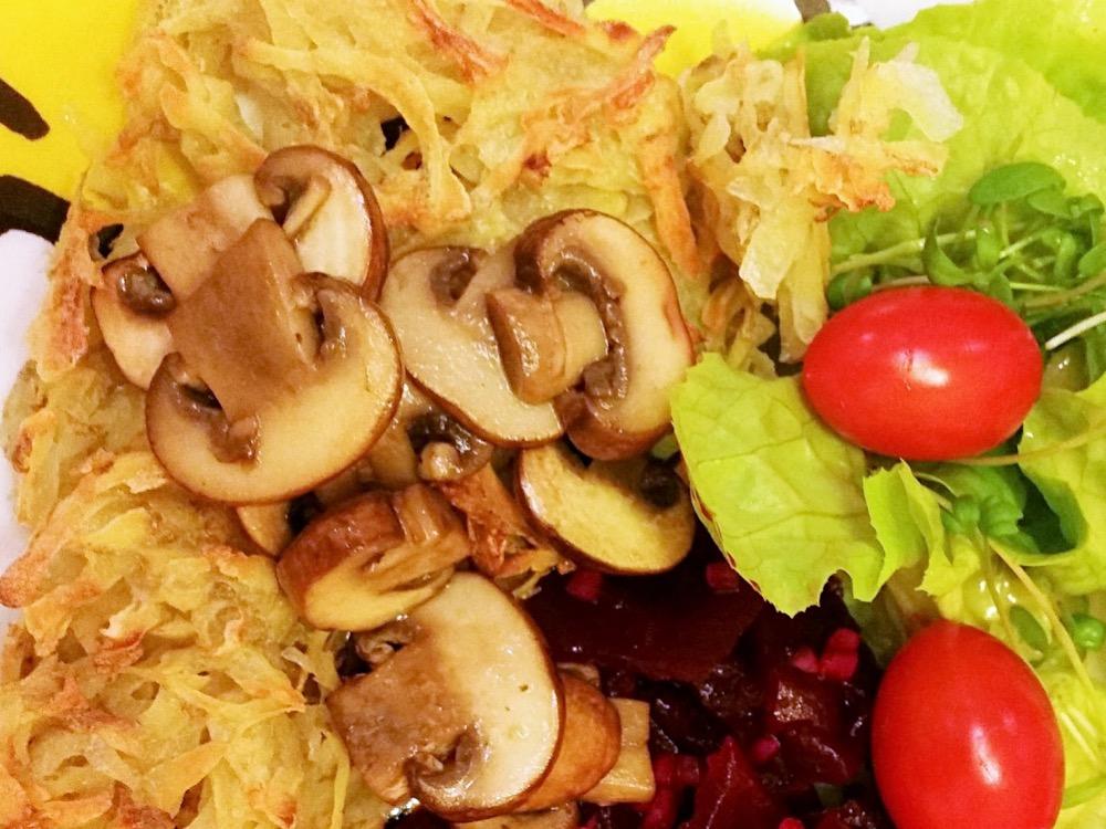 Janine\'s vegane Küche: Ofenrösti