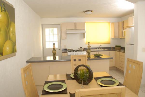 Casas en venta y departamentos casa muestra modelo tule for Modelos de casas interiores