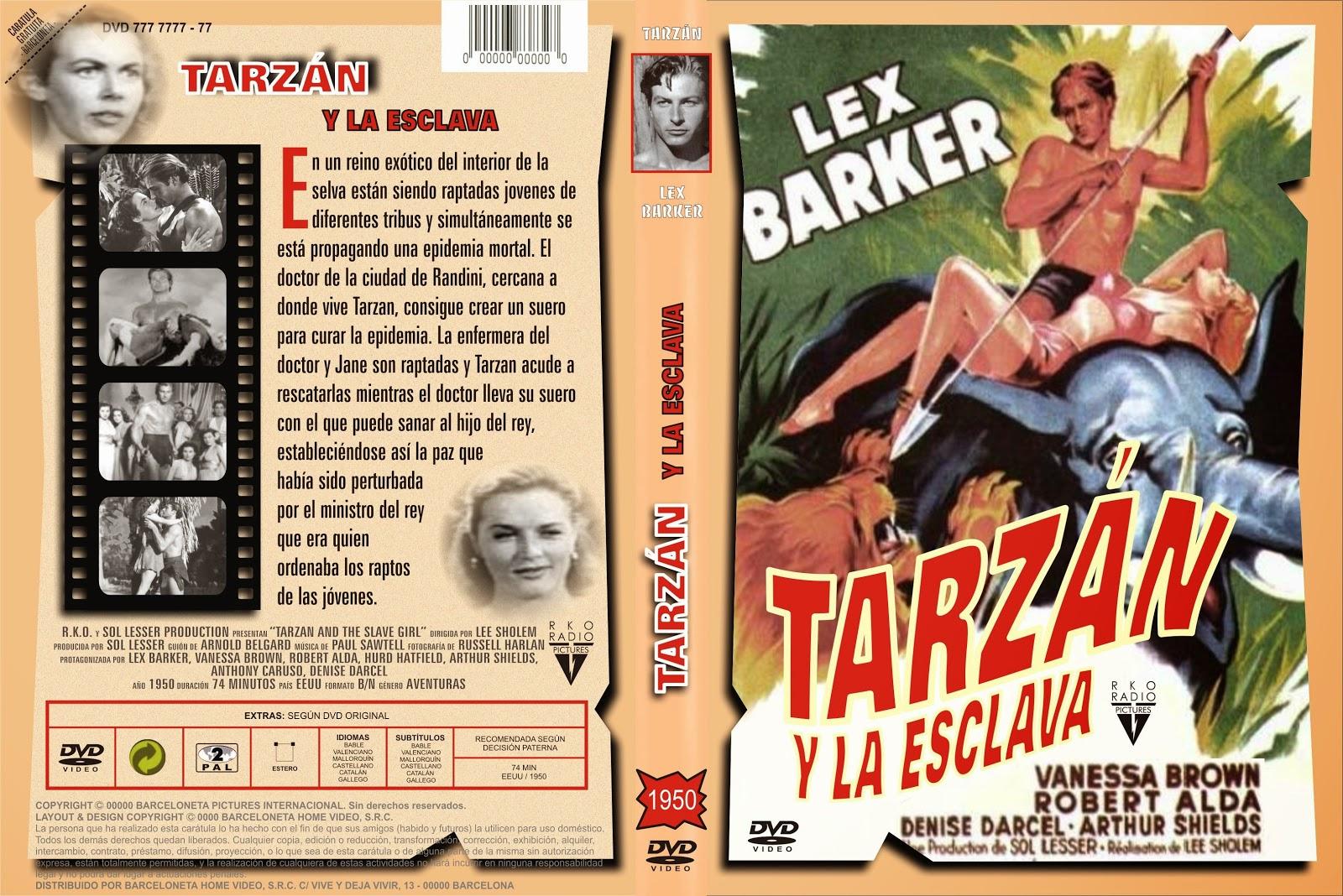 Tarz n y la esclava 1950 descargar y ver online - Tarzan pelicula completa ...