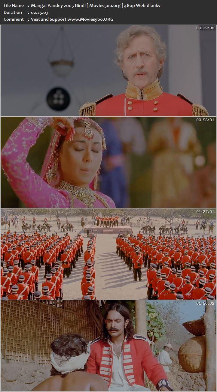 Mangal Pandey 2005 Bollywood 400MB WEB DL 480p at gamezun.com