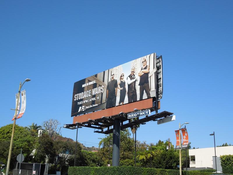 Storage Wars 4 billboard