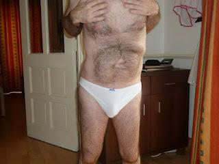 Nude Selfie - More White Cotton Panties