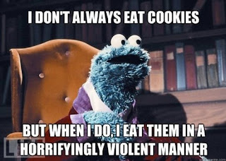 i dont always eat cookies