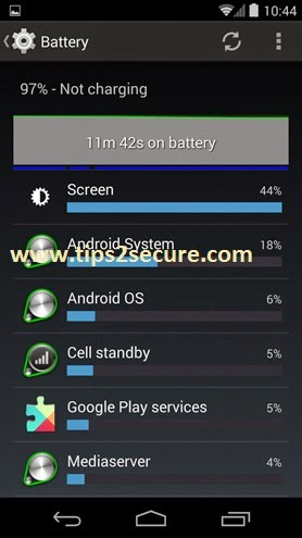 tips to increase phone's battery backup