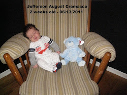 Jefferson 2 Weeks Old