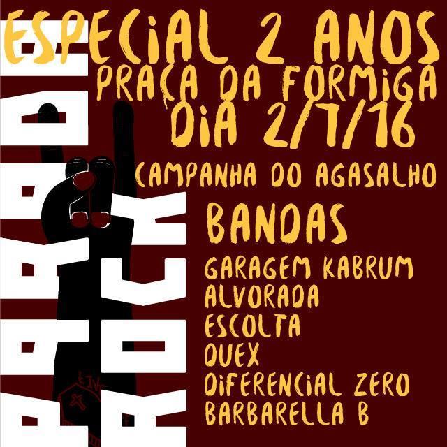 2 ANOS PARADA ROCK!