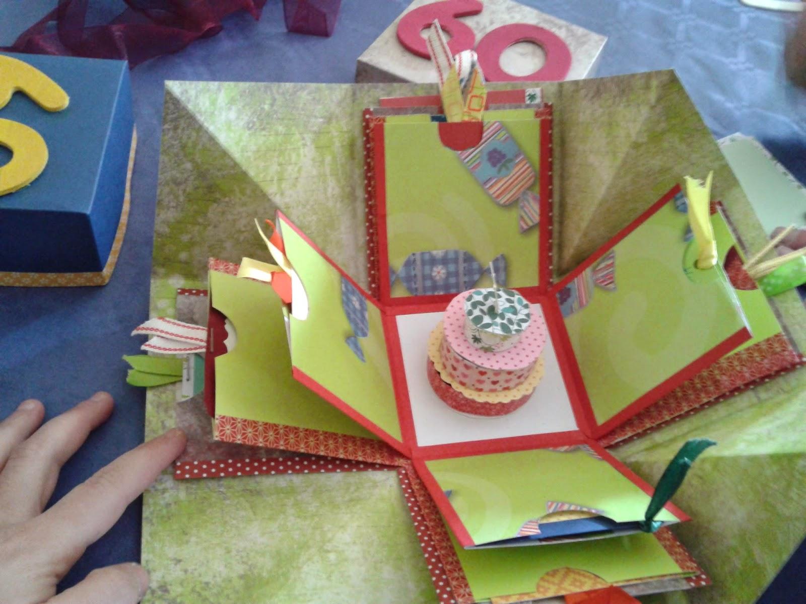madela manualidades cajas explosivas o cajas sorpresa