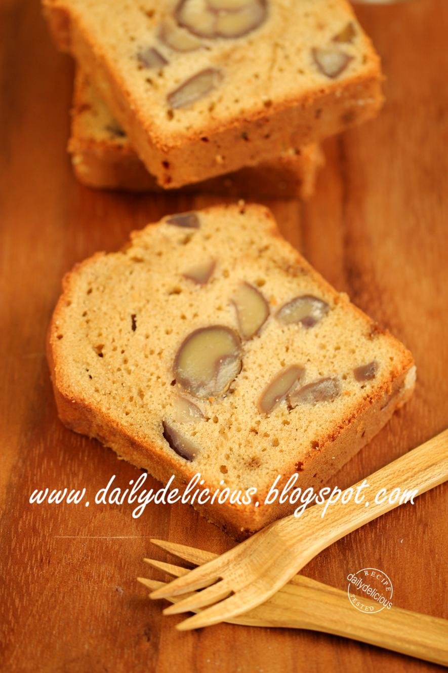 Brown Sugar Pound Cake Made With Swan Cake