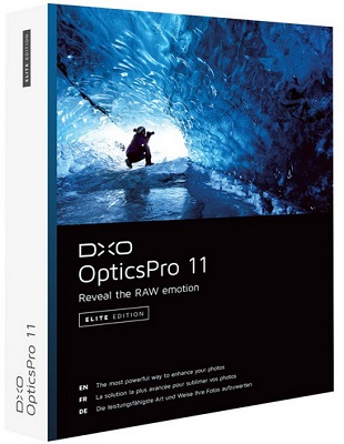 DxO Optics Pro 11.4.2 Build 12373 Elite poster box cover