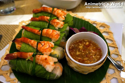 Prawn Fresh Rolls at Thai Bistro