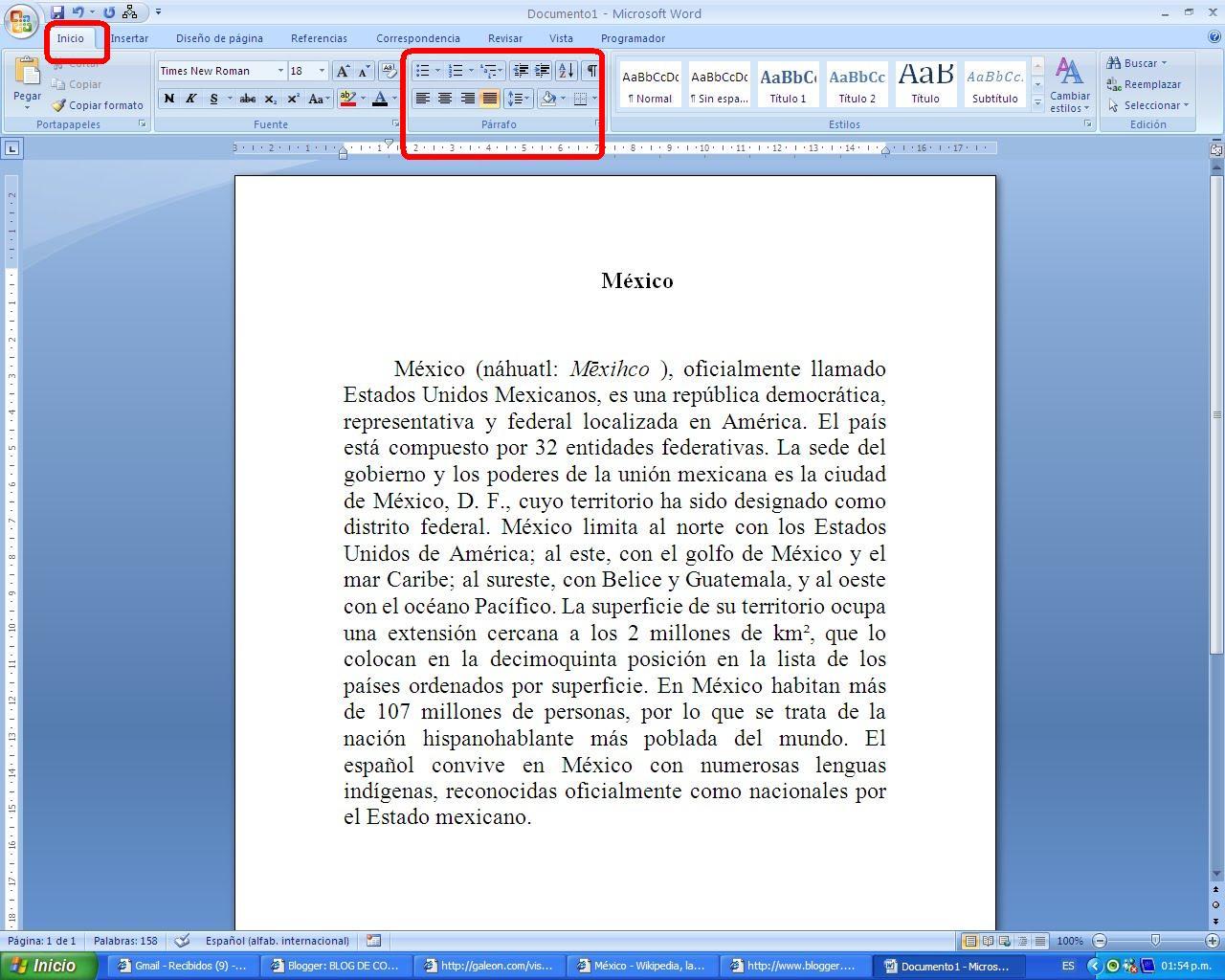 Elaboracion de documentos de calidad espacio for En word cual es el interlineado