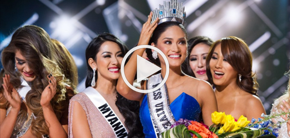 Miss Philippines Pia Wurtzbach Crowned Miss Universe 2015 (VIDEO)
