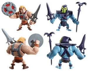San Diego Comic-Con 2013 Exclusive Masters of the Universe Mini He-Man & Skeletor 2 Pack by Mattel