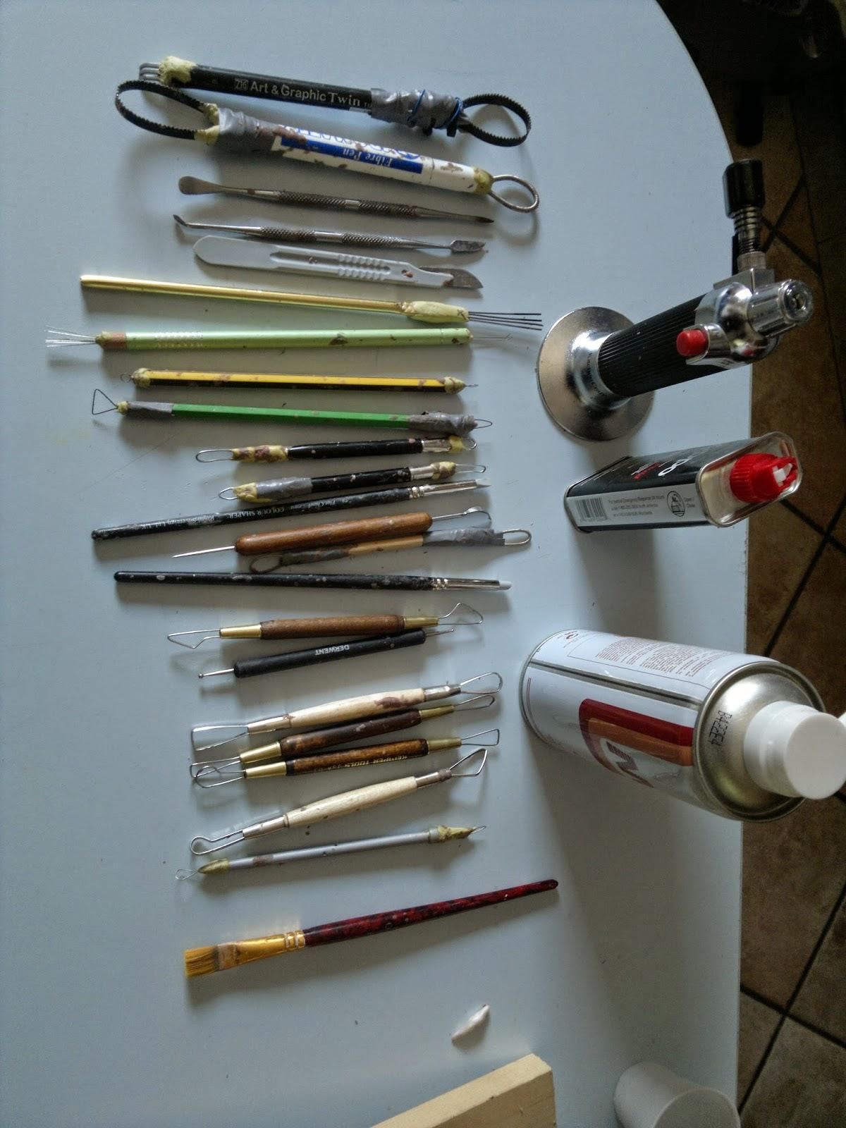 my sculpting tools