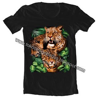 desain-kaos-t-shirt-binatang-macan-sumatra