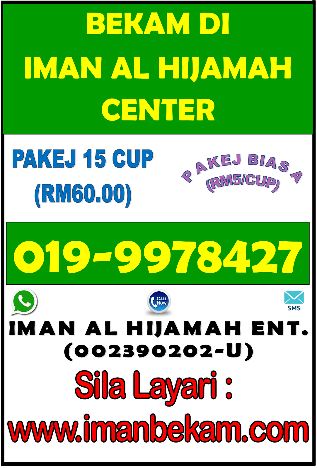 BEKAM DI IMAN AL HIJAMAH CENTER