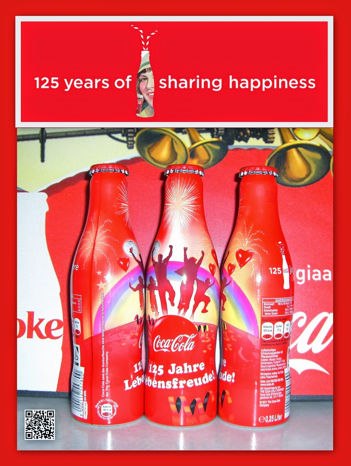 aluminum bottle collector club coca cola 125th ans aluminum bottle germany 2011. Black Bedroom Furniture Sets. Home Design Ideas