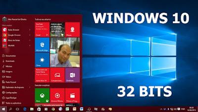 WINDOWS 10 RTM 32 BITS + ATIVADOR