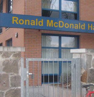 Ronald McDonald House-Ξενώνες φιλοξενίας για άρρωστα παιδιά