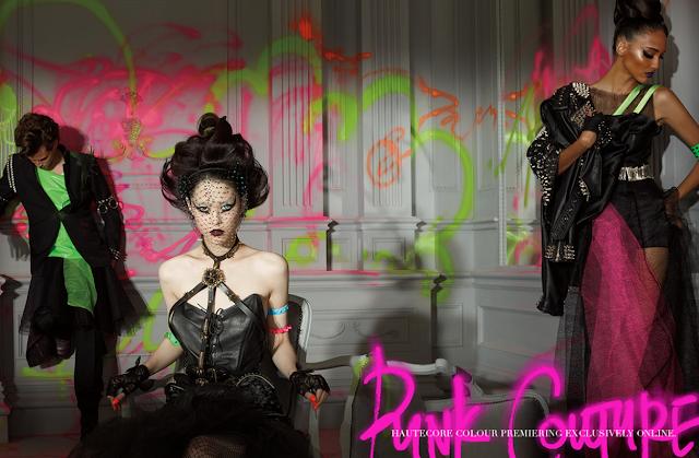 MAC punk couture promo pic