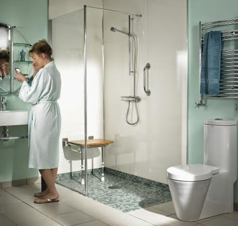 Wet room design ideas ideas for home decor - Wet rooms for small spaces photos ...