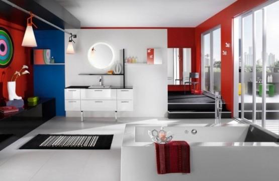 decor 2013 Decoração de banheiros com banheira