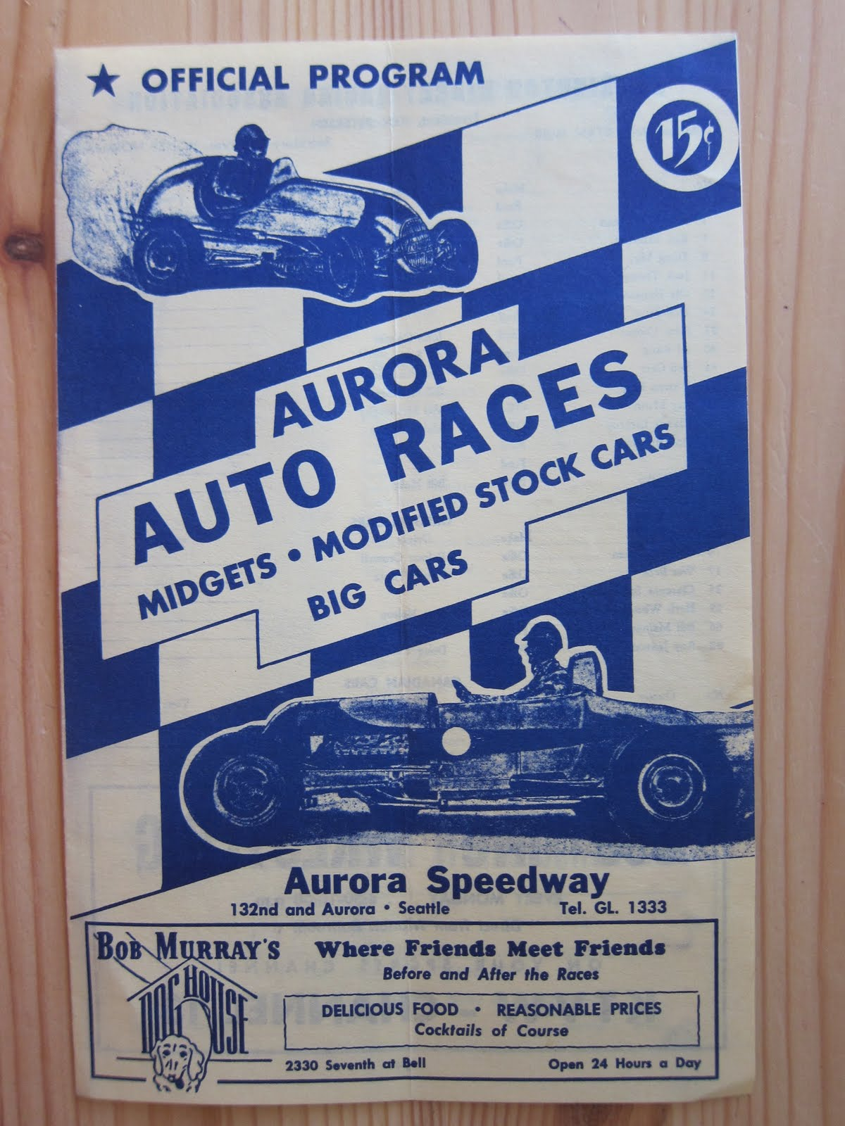 Northwest Auto Racing, 1950s: June 2011