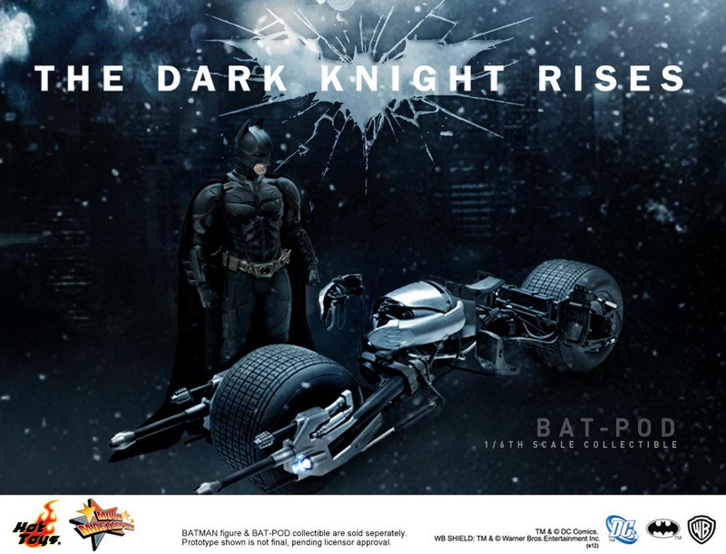 The dark knight batpod toy - photo#8