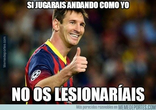 Messi andando