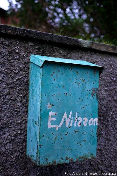 antik, gammal, postlåda, shabby chic, old, mailbox