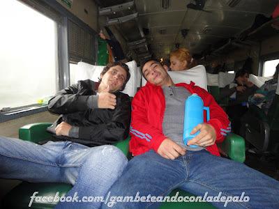 Con Andrés, de Matheu, Buenos Aires - Gambeteandoconladepalo