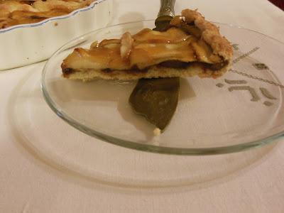 torta di mele e cotognata