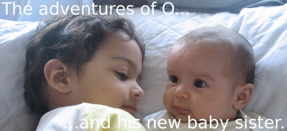 ...the adventures of O and his baby sister