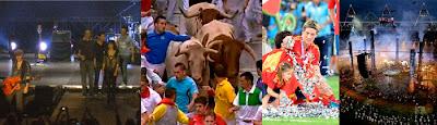 Julio 2012: Eurocopa España, Juegos de Londres