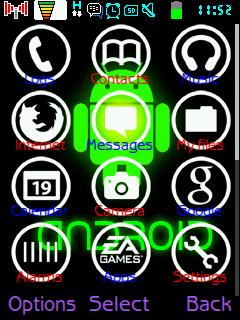 Tutorial Mengganti Icon Menu Samsung GT-C3322 (Lakota)