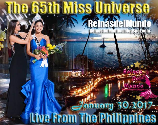Miss Universe 2016, 30 de Enero desde Manila, Filipinas.