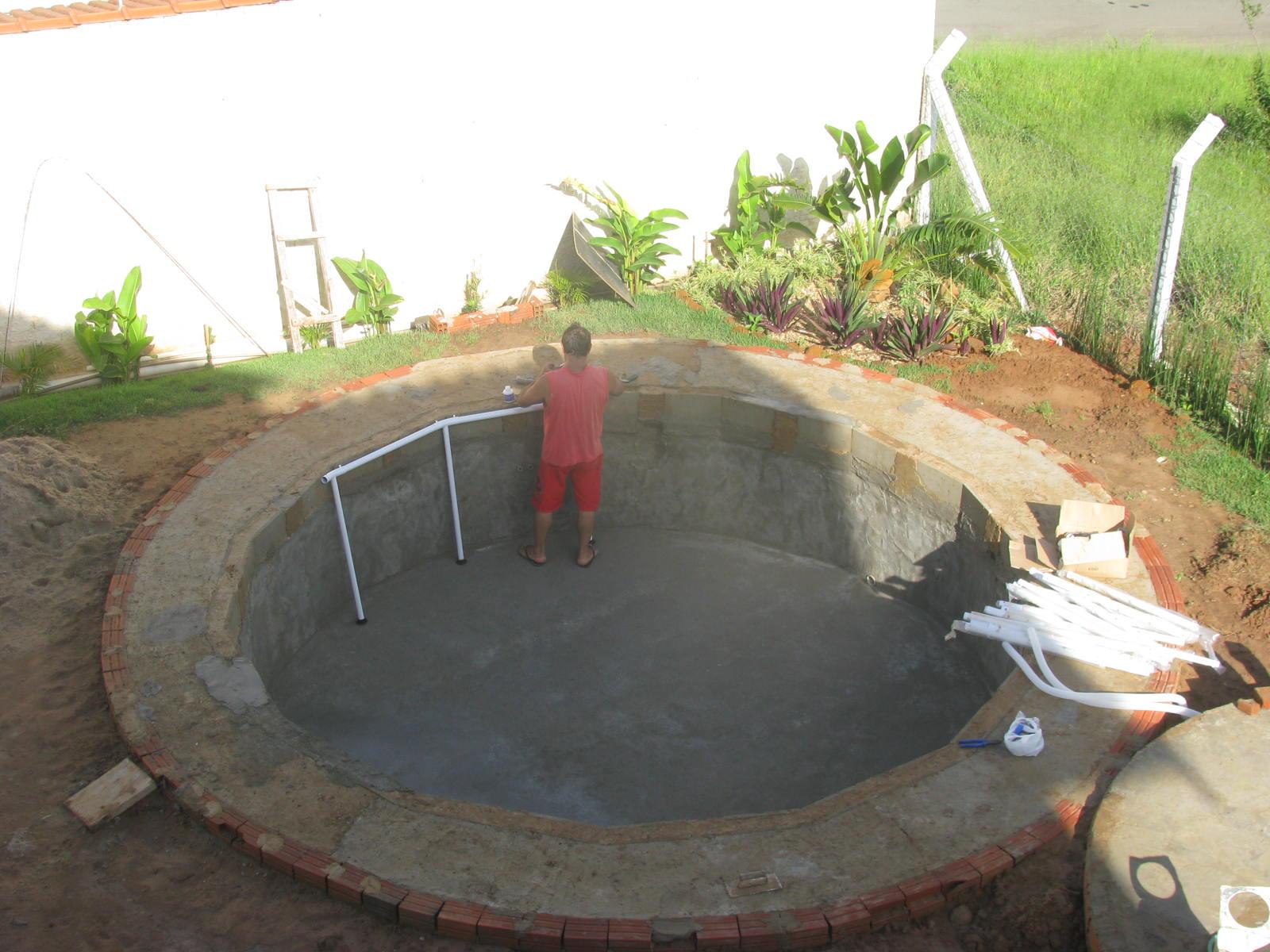 Simplesmente uma paix o a realiza o de um sonho for Lona piscina redonda