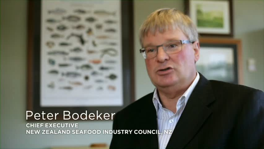 Peter Bodeker - Chief Executive New Zealand Seafood Industry Council.