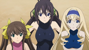 Infinite Stratos Houki, Rin, Cecilia jelous to Charlotte Dunois, Charles dunoa