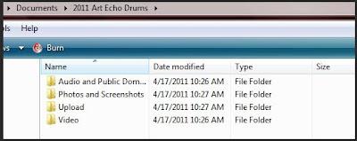 Folder Organization