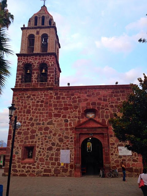 Lake Chapala church