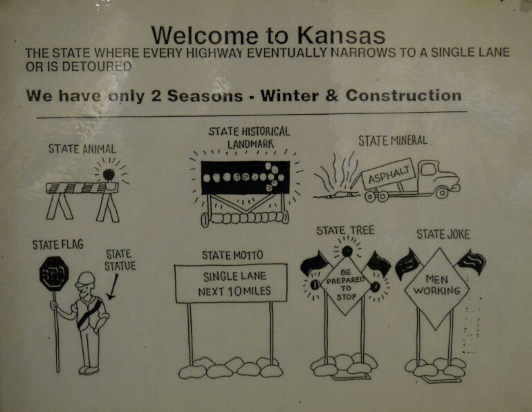 Welcome to Kansas poster