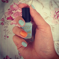 Barry M blue moon, Barry M, Blue Moon, nail varnish, nail polish