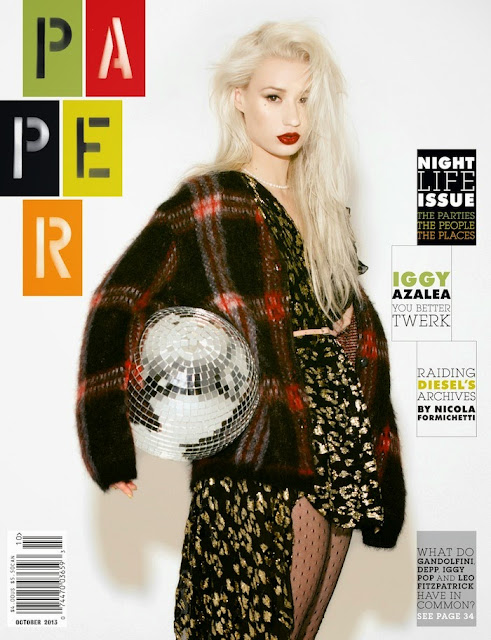 Magazine Photoshoot: Iggy Azalea Hot Photoshoot for Paper Magazine October 2013