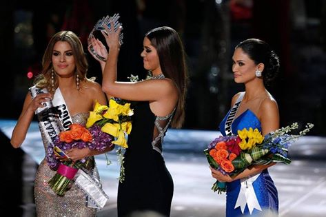 Pia Alonzo Wurtzbach Miss Universe 2015 Winner on December 20 in Las Vegas USA