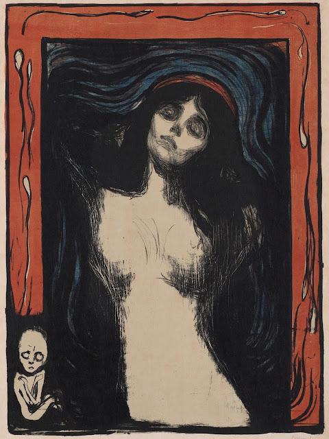 Edvard Munch: Madonna (litografi)