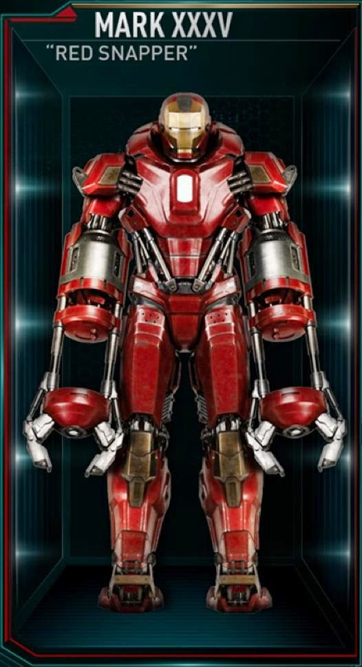 Iron Man Mark 36 ~ The gallery for gt iron man mark peacemaker