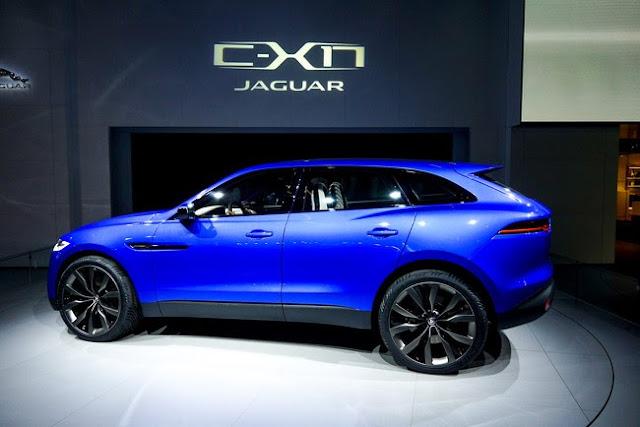 новый кроссовер Jaguar C-X17