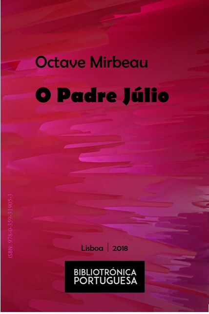 "Traduction portugaise de ""L'Abbé Jules"", 2018"