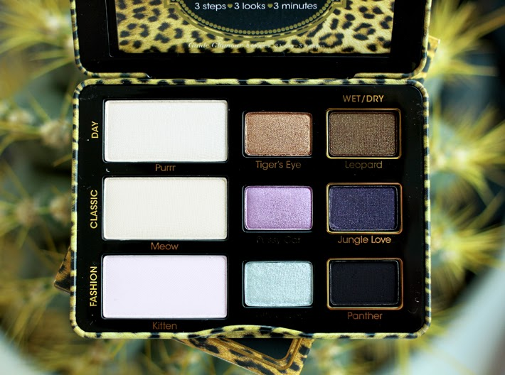 A beauty bloggers review of the Too Faced Cat Eyes Eyeshadow Palette complete with swatches and packaging.